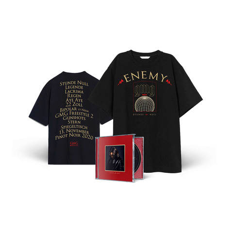 Stunde Null (Ltd. Fan Bundle) von Enemy - CD + Shirt jetzt im Chapter ONE Shop