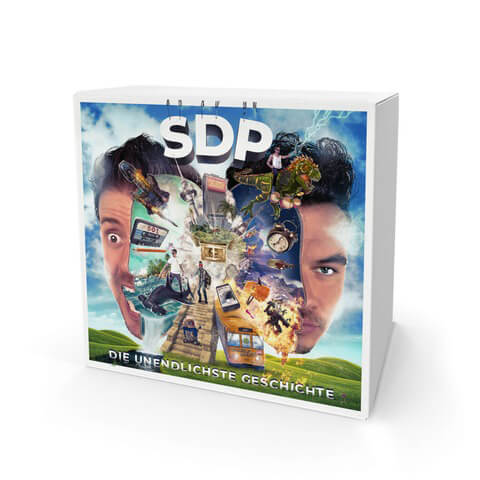Die Unendlichste Geschichte (Limited Ultra Fan Edition) von SDP - CD jetzt im Chapter ONE Shop